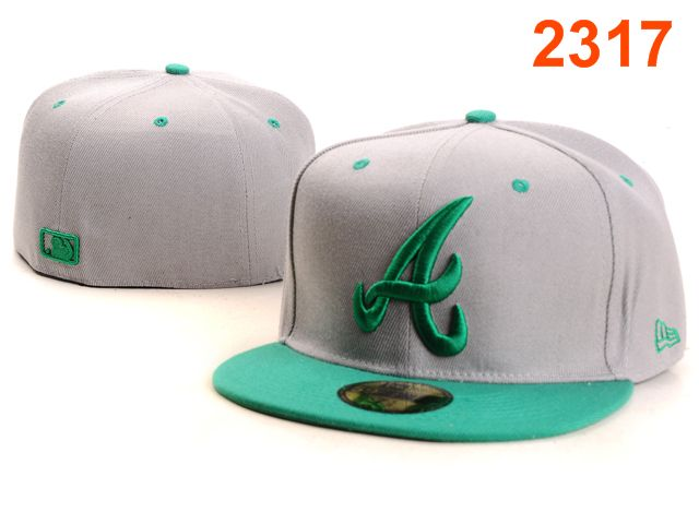 Atlanta Braves MLB Fitted Hat PT36